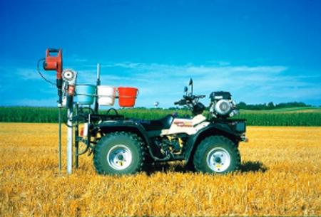 Technisierte Landwirtschaft